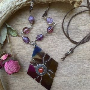 Necklace/Handcrafted Up-Cycled